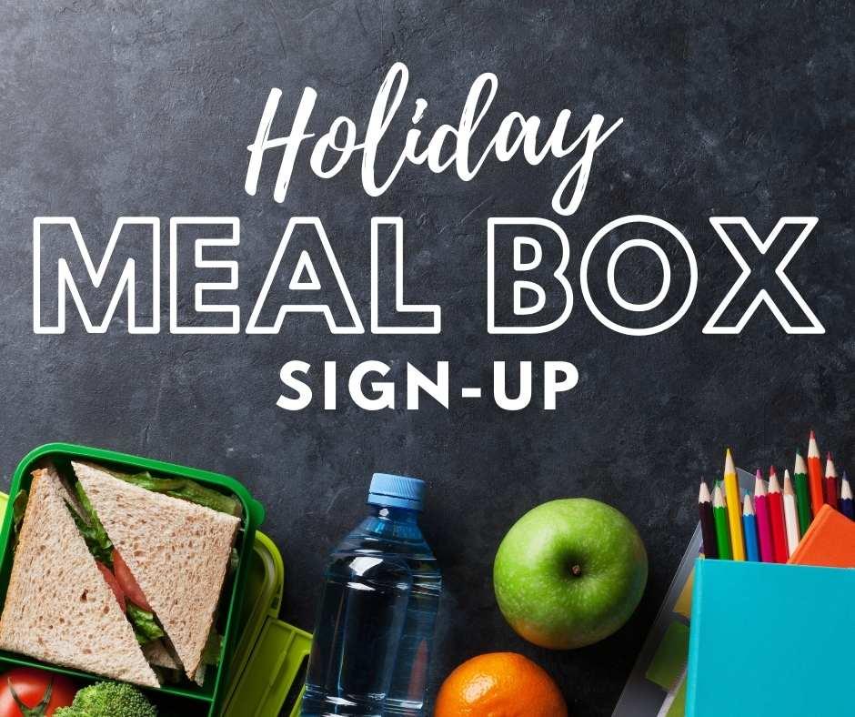 Christmas Break Meal Program