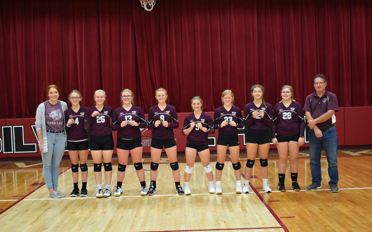 Junior High Volleyball Keeps Undefeated Season Going